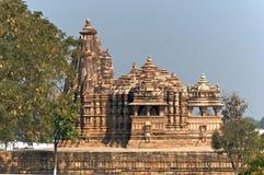 Vamana temple at Khajuraho royalty free stock photos