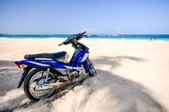 Vamos a la Playa - Going to the Beach - Dominican Republic Stock Image