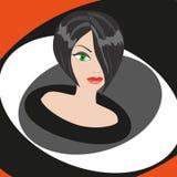 vamp妇女 免版税图库摄影