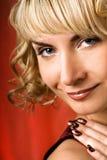 Vamp Frau Lizenzfreies Stockfoto