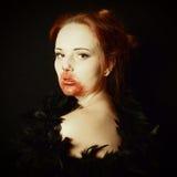 Vampier Royalty-vrije Stock Afbeeldingen
