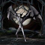 Vampier - het Cijfer van Halloween stock illustratie