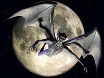Vampier - het Cijfer van Halloween Royalty-vrije Stock Afbeelding