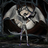 Vampier - het Cijfer van Halloween royalty-vrije illustratie