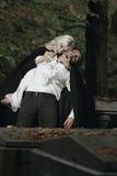 Vampierdroefheid Royalty-vrije Stock Foto's