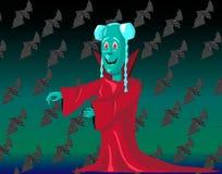 Vampir royaltyfri illustrationer