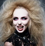 Vampir nachts Stockfotografie