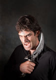 Vampire With Athame Royalty Free Stock Images