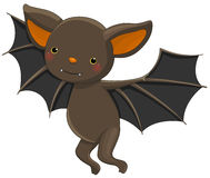 Vampire bat cartoon character Stock Photo