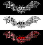 Vampire bat graphics Stock Images