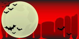 Vampire Bats Background Royalty Free Stock Photos