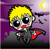 Vampire boy Royalty Free Stock Photos