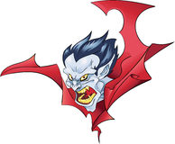 Free Vampire Bust Halloween Color Royalty Free Stock Photography - 45062667