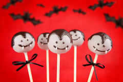 Vampire cake pops Stock Photo
