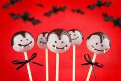 Vampire cake pops stock photo