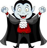 Vampire cartoon Stock Photo