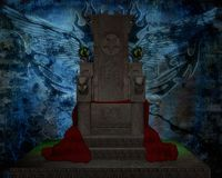 Vampire chair Royalty Free Stock Photography