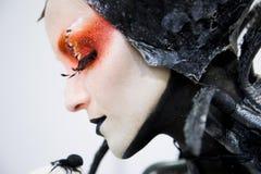 Vampire Close Up Portrait Stock Photo