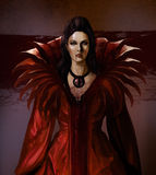 Vampire countess Royalty Free Stock Photo