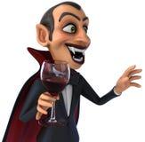 Vampire d'amusement Images libres de droits