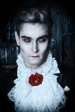 Vampire de Hallowin Photographie stock