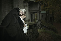 Vampire embrace Royalty Free Stock Photography