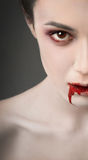 Vampire eye Stock Photo