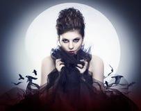 Vampire féminin photos stock