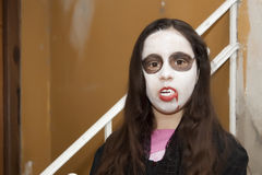 Vampire girl royalty free stock photos