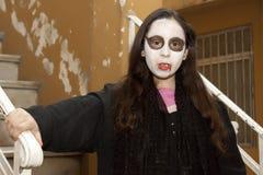 Vampire girl royalty free stock image