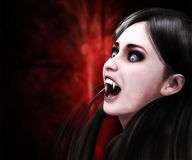 Vampire girl Royalty Free Stock Photos