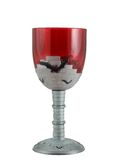Vampire Goblet. Isolated on a white background Stock Images