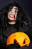 Vampire at Halloween Royalty Free Stock Photos