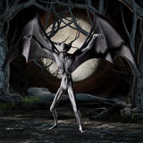Vampire - Halloween Figure Stock Photos