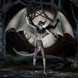 Vampire - Halloween Figure Royalty Free Stock Photo