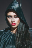 Vampire. Helloween portrait. Royalty Free Stock Image