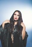 Vampire. Helloween portrait. Stock Photography