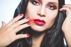 Vampire. Helloween portrait. Royalty Free Stock Photo