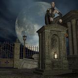Vampire Hunter Stock Photography