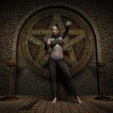 Vampire Hunter - Halloween Figure Royalty Free Stock Photo