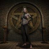 Vampire Hunter - Halloween Figure Royalty Free Stock Photos