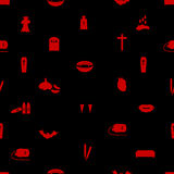Vampire icon pattern eps10 Stock Photos
