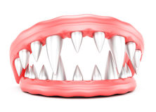 Vampire jaws Royalty Free Stock Images