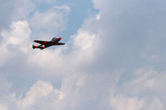 VAMPIRE JET IN THE SKY Royalty Free Stock Photography