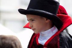 The Vampire kid Royalty Free Stock Image