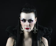 Vampire lady Royalty Free Stock Images