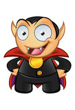 Vampire Mascot - Hands On Hips Royalty Free Stock Photos