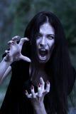 Vampire at a moonlight Royalty Free Stock Photo