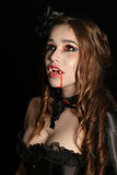 Vampire Portrait Royalty Free Stock Photos