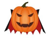 Vampire pumpkin Royalty Free Stock Photography